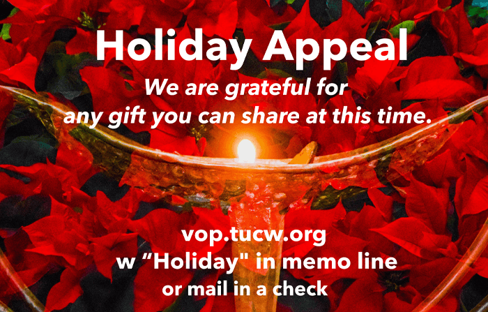 TUCW 2020 Holiday Appeal