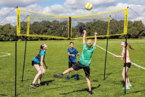 youth palying 4D Volleyball