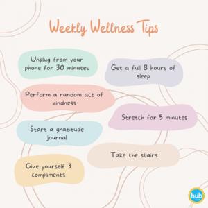 Weekly Wellness Tips